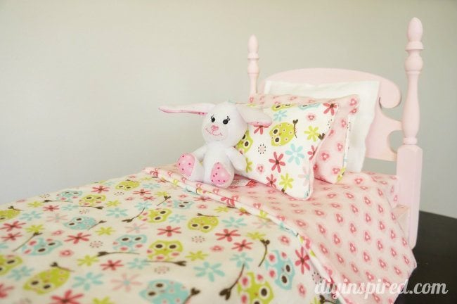 DIY Refurbished Doll Bed (1)