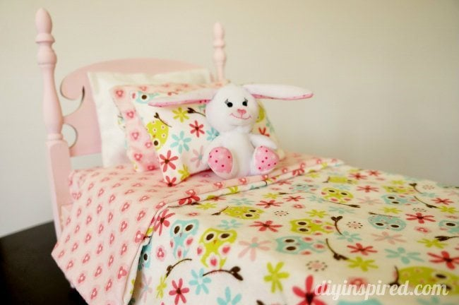 DIY Refurbished Doll Bed (2)