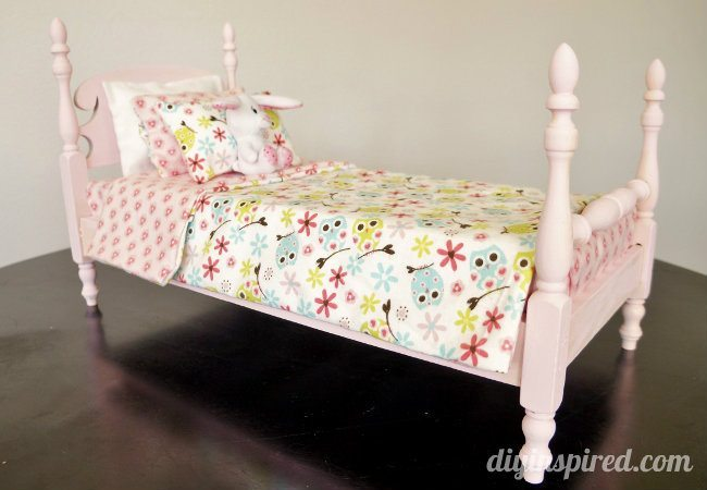 DIY Refurbished Doll Bed