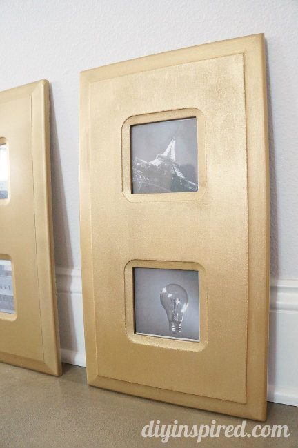 Easy Store Bought Frame DIY Makeover