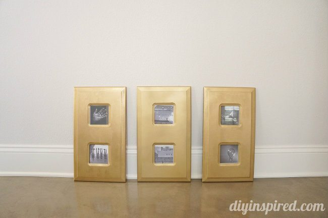 Easy Store Bought Frame Metallic Makeover