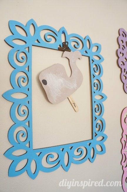 Kids Artwork Display Idea (4)