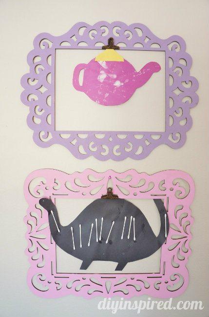 Kids Artwork Display Idea (5)