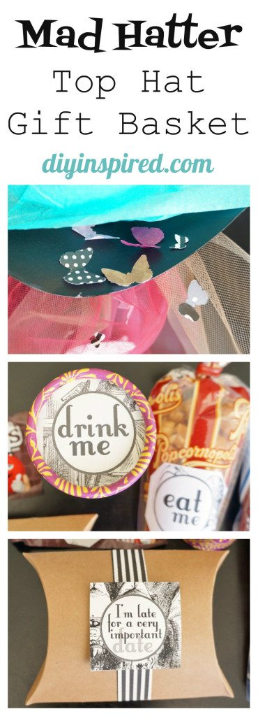 Mad Hatter Gift Idea Collage