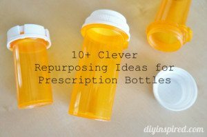 Repurposed Prescription Bottles