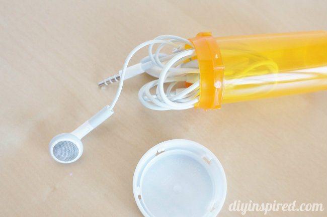 Upcycled Prescription Bottles for Travel
