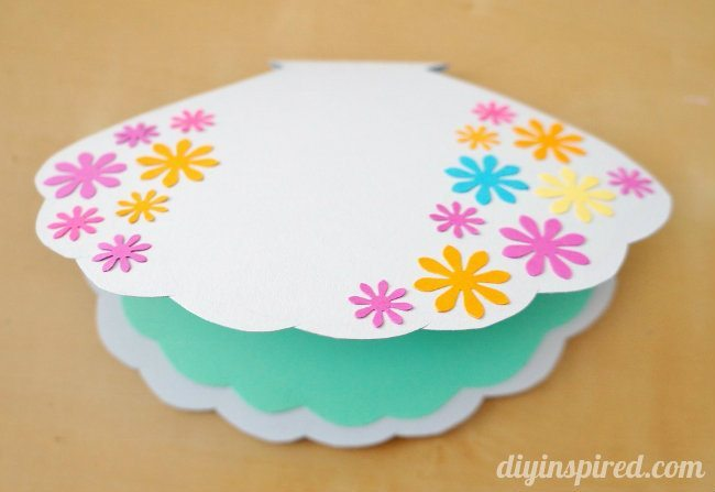 DIY Little Mermaid Card or Invitation