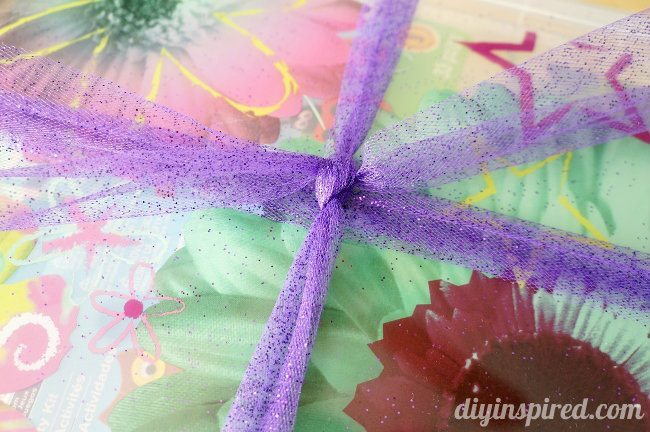 DIY Tulle Bow Instructions