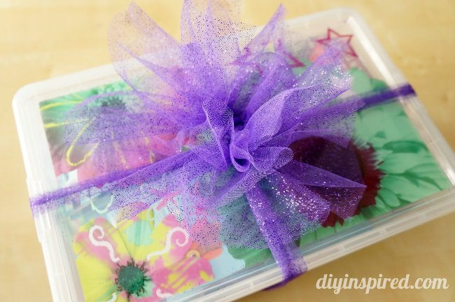 How to Make a Tulle Bow Separate Layers