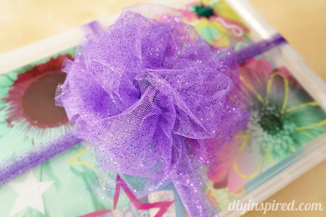 How to Tie a Tulle Bow