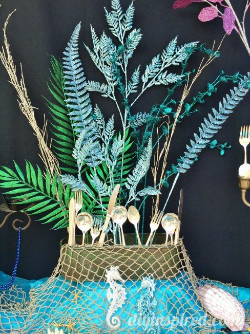 The little mermaid party ideas diy inspired for Ariel decoration party