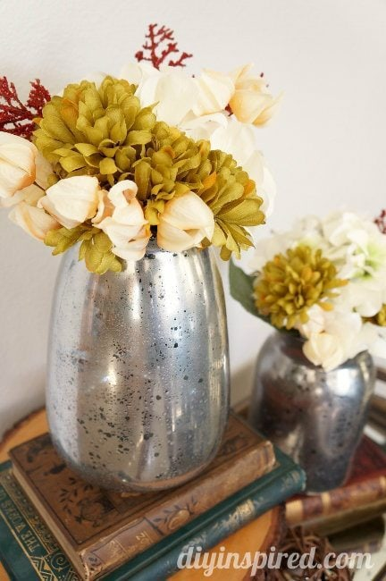 DIY Mercury Glass Vase Tutorial