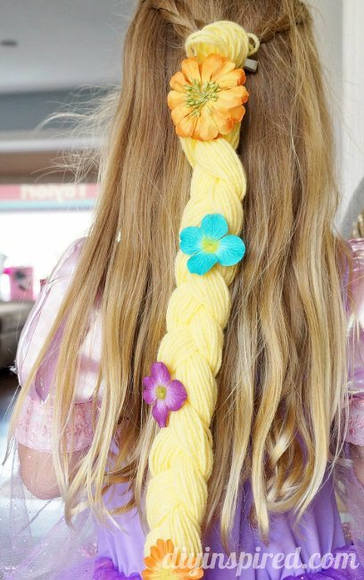 DIY Rapunzel Braid Hair Clip