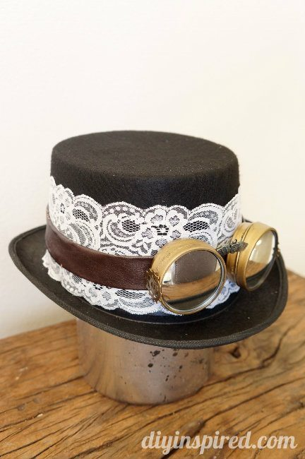 Diy Steampunk Top Hat And Goggles Diy Inspired