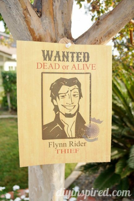 Flynn Rider Wanted Poster Printable DIY Inspired – Printable Wanted Posters