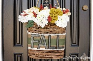 Hanging Fall Wreath