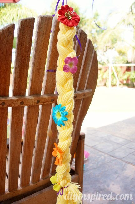 How to Make DIY Rapunzel Braid Party Favors