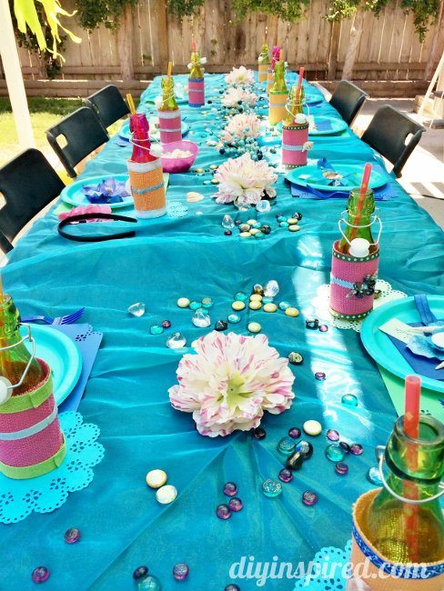 The Little Mermaid Party Ideas Diy Inspired