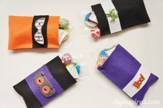 No Sew Felt Halloween Bags