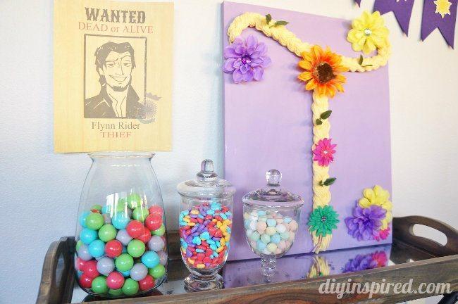 Rapunzel DIY Party Decorations