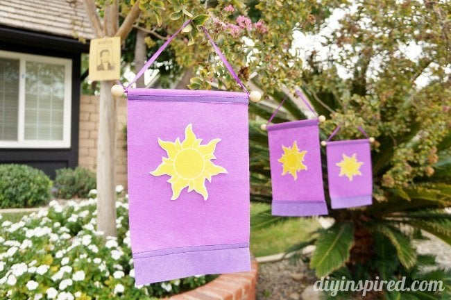 Rapunzel Flag Iron-On Sun Printable  (1)