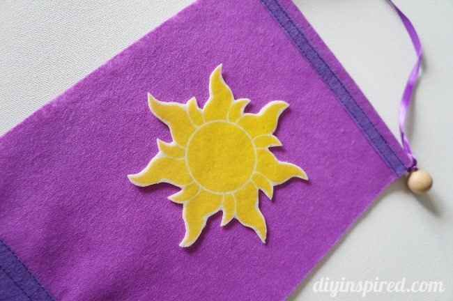 Rapunzel Flag Iron-On Sun Printable  (2)