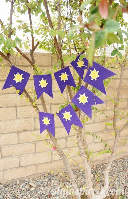 Rapunzel Iron-On Sun Bunting Printable  (3)