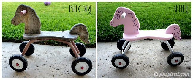 Thrift Store Wooden Toys to Makeover for your Kids