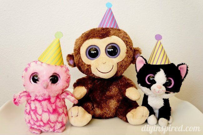 Beanie Baby Birthday Party Hat Printables
