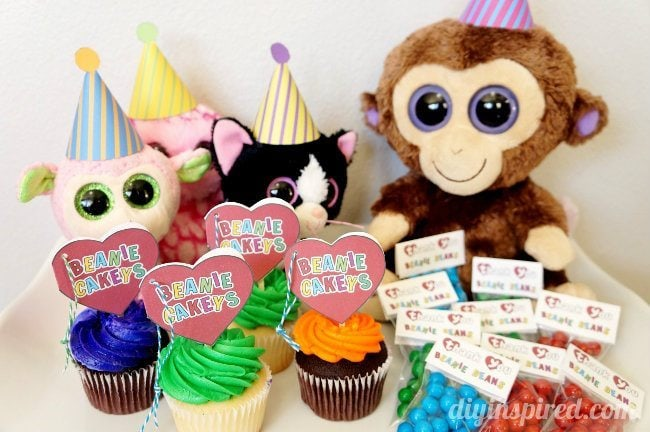 Beanie Baby Party Ideas With Printables DIY Inspired