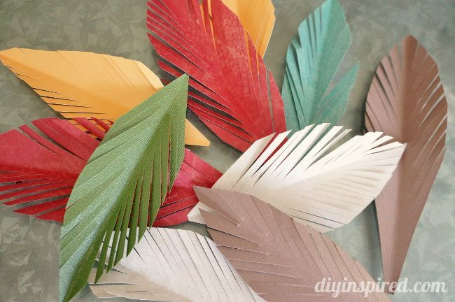 Glass Milk Bottle Turkey Feathers