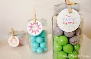 Mason Jar Gift Idea- You Blow My Mind