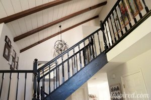 Our Black Staircase Makeover (3)