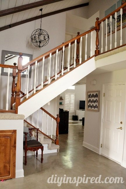 Our Staircase Makeover Before Pictures (1)