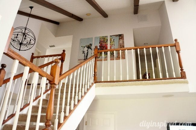 Our Staircase Makeover Before Pictures (2)