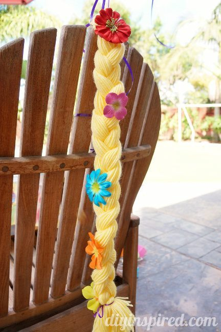 rapunzel birthday party decorating ideas