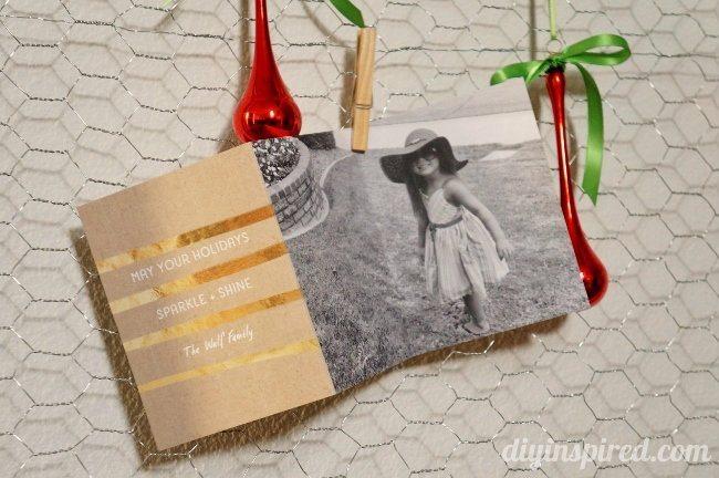 DIY Christmas Card Display (5)