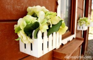 DIY Playhouse Flower Boxes (1)