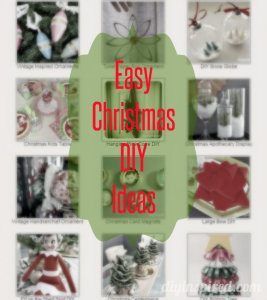 Easy Christmas DIY Ideas