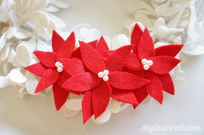 Felt Poinsettia DIY (1)