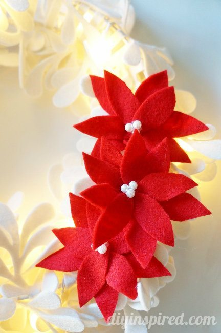 Felt Poinsettia DIY (3)