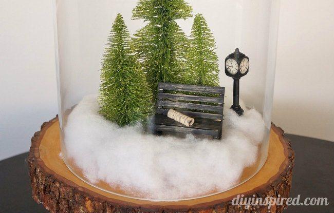 Mini Winter Scene Cloche (2)
