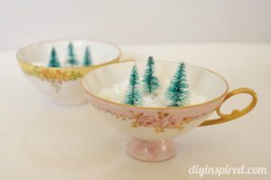 Vintage Tea Cup Decor