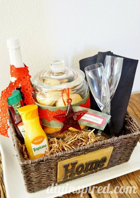 The ultimate holiday hostess gift idea diy inspired for Holiday party gift ideas for the hostess