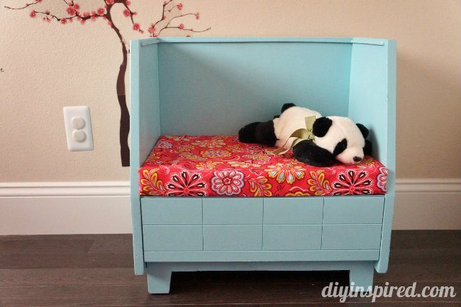 Upcycled Thrift Store Bench for Kids BLACK + DECKER