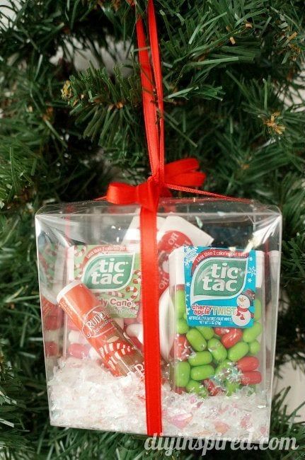 Winter Survival Kit Tic Tack Orna-mint Gift