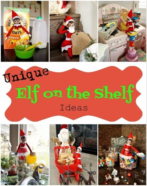 """Creative Elf on the Shelf Ideas My oldest is now three and a half, I've loved the idea of the Elf on the Shelf and was super excited to start this year. Baby sister has no clue what is going on so """"Christmas Elle"""" is just playing for the older girl's enjoyment."""