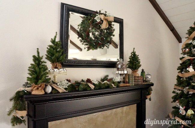 DIY Inspired Christmas Home Tour Family Room (2)