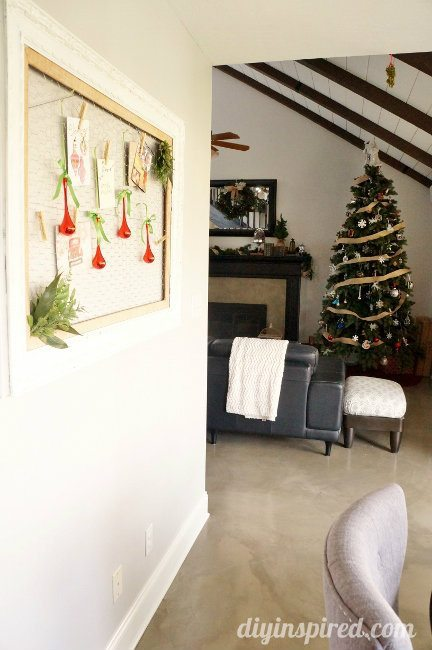 DIY Inspired Christmas Home Tour Family Room (4)