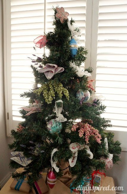 DIY Inspired Christmas Home Tour Living Room (1)